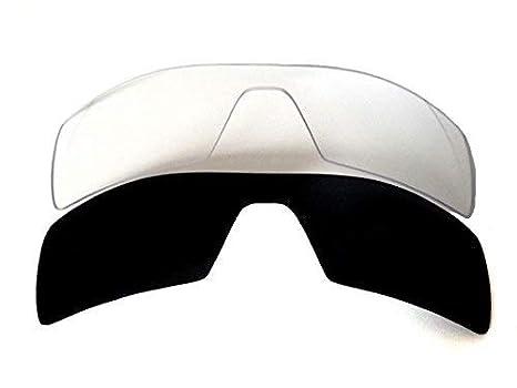 Galaxy Lentes De Repuesto Para Oakley Oil Rig negro y transparente ...