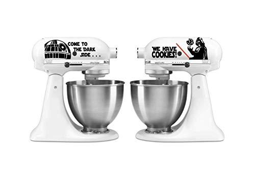(Kitchen Mixer Star Wars Set Vinyl Decal Sticker For Kitchen Mixer)