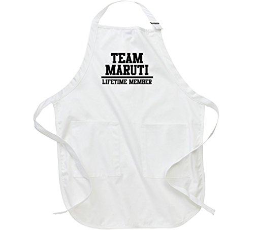 team-maruti-lifetime-member-name-fathers-day-gift-apron-l-white