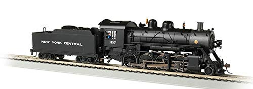 Bachmann Baldwin 2-8-0 DCC Sound Value Equipped Locomotive - NYC #1137 - HO Scale, Prototypical Black ()