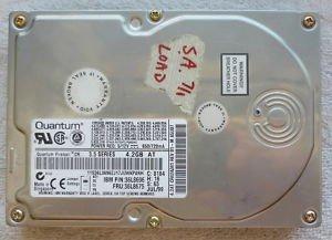 QUANTUM - 4.2GB IDE 3.5in HARD DRIVE (4.2AT/36L8675) Fireball CR - CR42A341