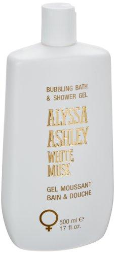 White Musk Bath & Shower Gel Doccia 500 ml by Alyssa Ashley