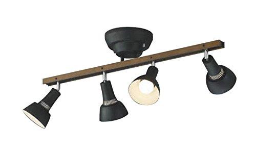 コイズミ照明 シャンデリア 白熱球60W×4灯相当 リモコン ウォームブラウン色 AA47243L B072K46B7Z 32564