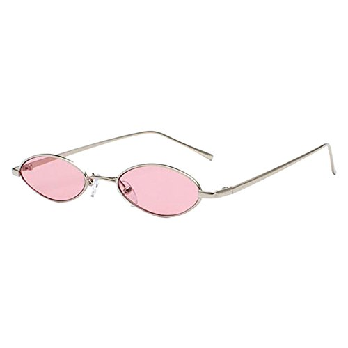 Meijunter Unisex Vintage Round Metal Punk Polarized UV400 Protection Sunglasses (Driving Brillen)