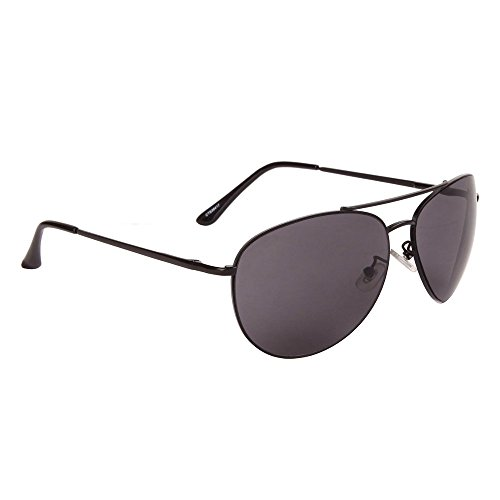 Epic Brand Aviator Sunglasses Collection for Men and Women | Classic Metal Frame Military Pilot Style Glasses (Black, - Epic Sunglasses