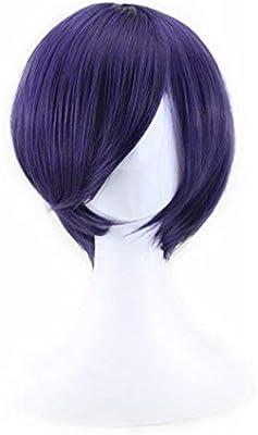 Blue Purple Short Hair Cosplay Anime Wig Buy Online At Best Price In Uae Amazon Ae