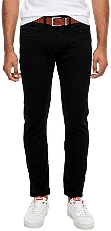 s.Oliver Męskie spodnie Slim Fit: Slim Leg-Denim: s.Oliver: Odzież