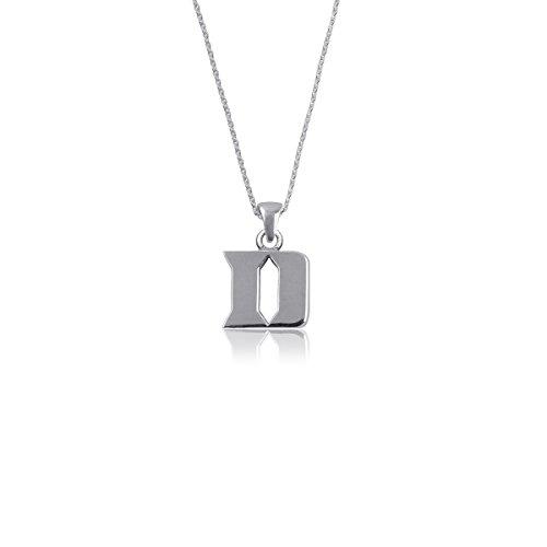 Duke University Blue Devils Sterling Silver Jewelry by Dayna Designs (Pendant Necklace)