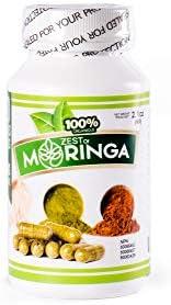 Organic Moringa Capsule Supplement Capsules product image