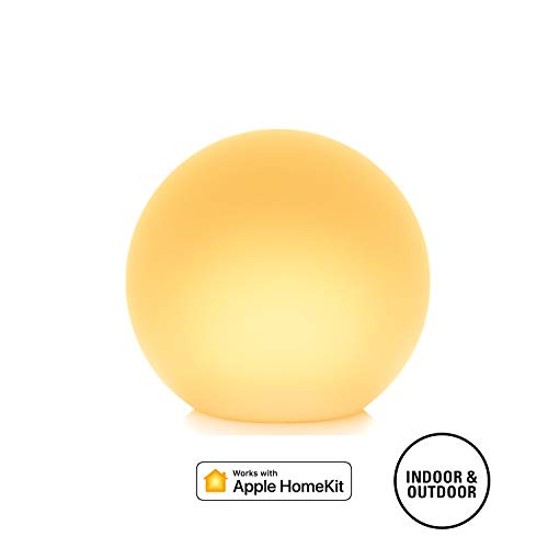 Eve Flare - Portable Smart LED Lamp, IP65 Water resistance and wireless charging (Apple HomeKit)