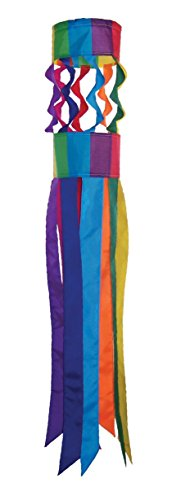 In the Breeze Rainbow Twistair Windsock, (Rainbow Wind Spinner)