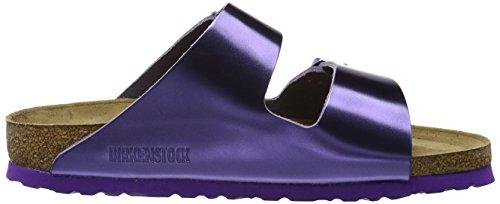 Birkenstock Arizona, Bout Abierto para Mujer Morado (Metallic Violet)