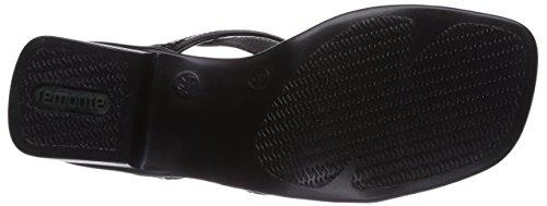 Remonte R5955 - sandalias abiertas de material sintético mujer negro - Schwarz (schwarz 01)