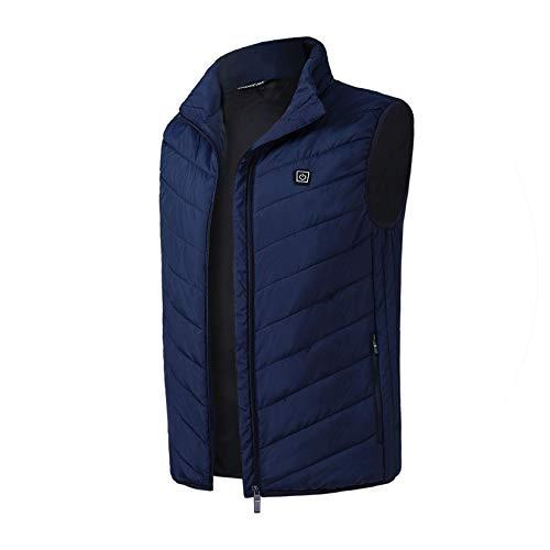Explorer Nightgown - Warm Vest for Women Thermal Sleeveless ski Vest Women's Vest,Blue,XL
