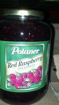Polaner: Red Raspberry Preserves 6/64 Oz. ()