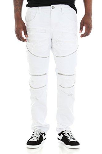 smoke-rise-twill-moto-pants-w-rip-repair-zipper-trim-40x32-white