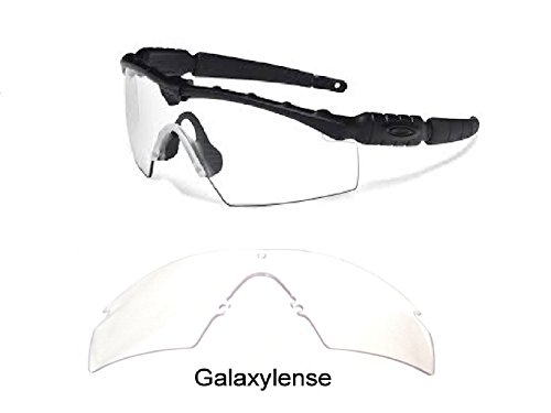 Galaxy Replacement Lenses For Oakley Si Ballistic M Frame 2.0 Z87 Crystal Clear (Ballistic Lens)