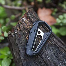 Tactica Multitool M100 – TSA compliant, Tech Friendly, Strong and Lightweight with 2 x 1 4 inch Driver Heads included. Perfect for everyday carry, mountain biking, camping, outdoors or about the house