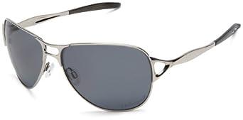 oakley women's hinder polarized aviator sunglasses