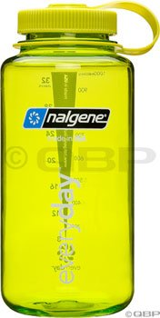Nalgene 32 oz Tritan Wide Mouth Loop Top Water Bottle - Spring Green