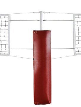 最初チームft5010cp foam-vinylバレーボールセンターポストpad44 ;オレンジ B00CY9E43O