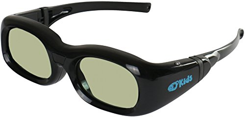 KIDS CHILDREN'S SONY Active Bluetooth 3D Glasses Rechargeable Compatible TDG-BT500A + TDG-BT400A 3-D Glasses by eDimensional