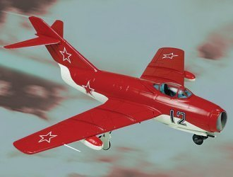 MIG 15 (Soviet Air Force Acrobatic Team) (1:48 scale) Diecast Model Aircraft