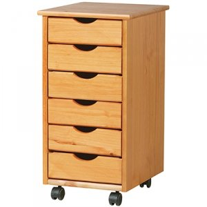ADEPTUS 6-DRAWER MOBILE STORAGE CART