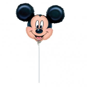 Mickey Mouse Head Mini Shape Balloon for sale  Delivered anywhere in USA