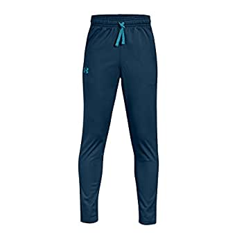 Under Armour Brawler Tapered Pant Training Joggers For Kids - Teal 6-7 Years