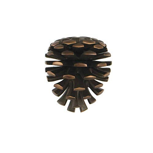 Pinecone Door Knocker - Oiled Bronze (Premium Size)