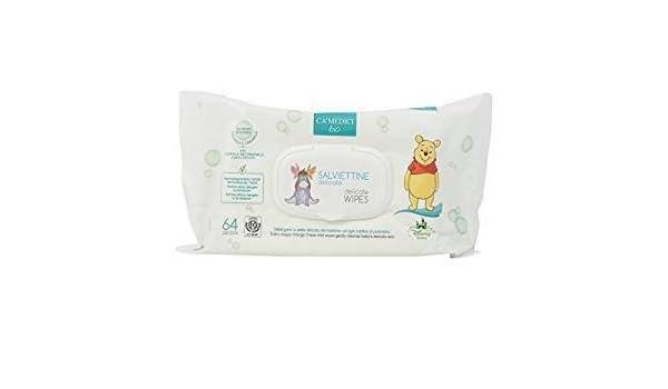 CA MEDICI BIO - Disney Baby Toallitas Delicados para Niños - con Extractos de Calendola y Chamomille - Made in Italy - 64 piezas: Amazon.es: Belleza