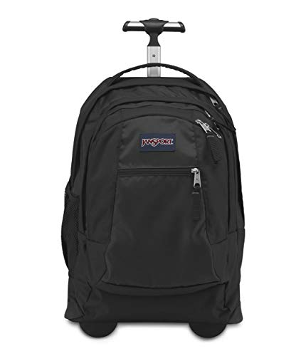 Jansport Driver 8 Core Series Wheeled Backpack, Black (Past Season)