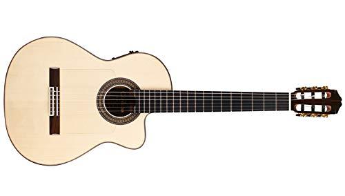 Cordoba 55FCE Negra Limited Edition Acoustic-Electric Thinbody Flamenco...