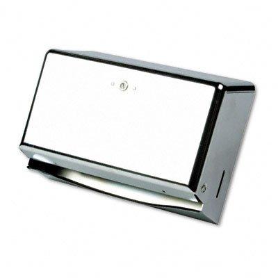 SANT1950XC - San Jamar T1950XC Mini C-Fold or Multifold Paper Towel Dispenser -  T1700TBK