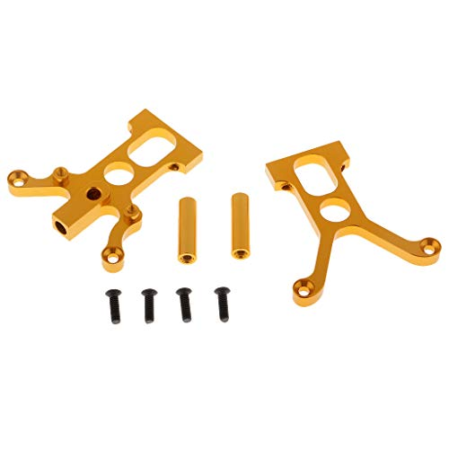 Fityle 1/10 Centre Diff Mount+Post 102025 02006 for HSP 94102 94122 RC Nitro Trucks ()