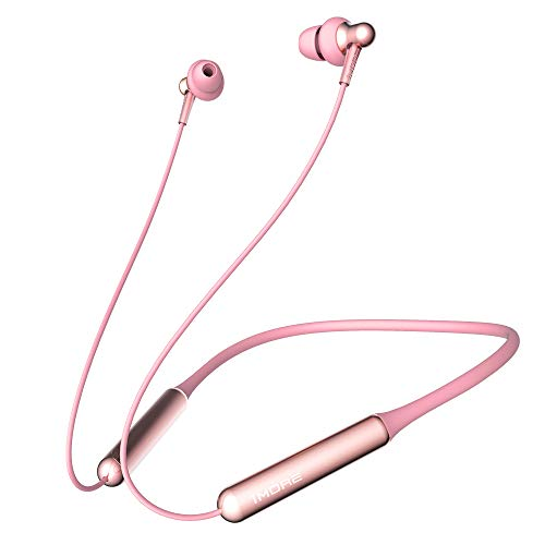 Price comparison product image 1MORE Stylish Dual-dynamic Driver BT In-Ear Headphones Wireless Bluetooth Earphones with 4 Stylish Colors,  High Fidelity Wireless Sound,  Long Battery Life,  Comfortable Wearing and Mic - Pink