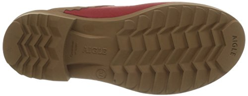 Aigle Victorine, Sabot zuecos mujer Rojo - Rouge (Chili/N)