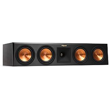 Klipsch Reference RP-450CA Premiere Dolby Atmos Center Channel Speaker, Black
