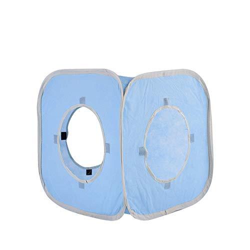 - Hyue Pet Nest Non-Woven Foldaway Square Diminished Dog House (Color : Blue, Size : 38.138.138.1CM)