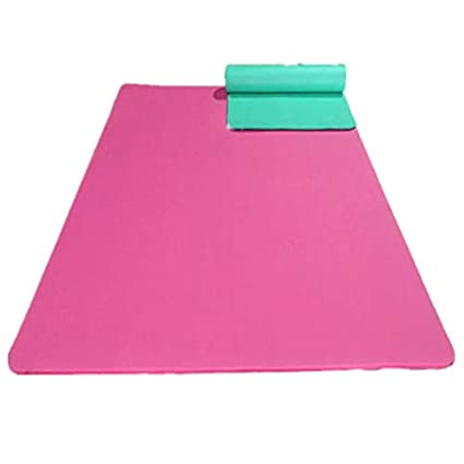 f51078a52 Amazon.com   All-Purpose 1 2-Inch Extra Thick High Density Anti-Tear  Exercise Yoga Mat with Carrying Strap(18580cm)   Pet Supplies