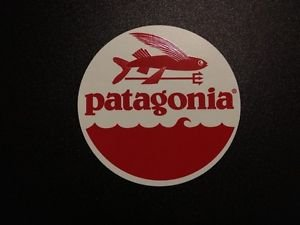 "Patagonia Flying Fish 4""x4"" Vinyl Sticker Decal"