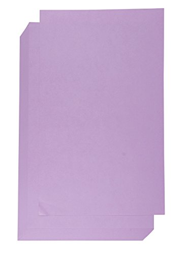 - Colored Paper - 60-Count 8.5 x 14 Legal Size Heavyweight Paper for Brochure, Invitation, Scrapbooking, Inkjet and Laser Printers Compatible, 150GSM, Purple