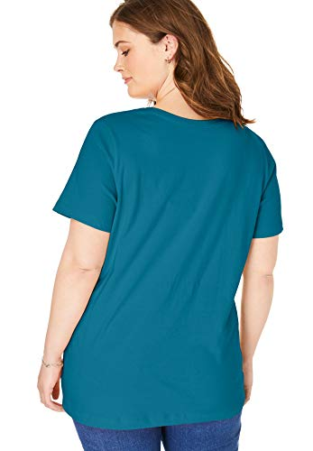 Plus Size Perfect V-Neck Tee Top