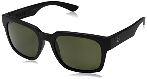 - Electric Visual Zombie S Matte Black/OHM Polarized Grey Sunglasses