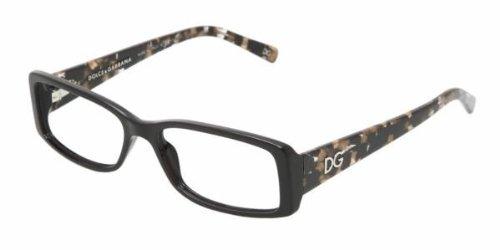 Dolce & Gabbana Women's 3076 Black / Black Tortoise Frame Plastic Eyeglasses, - Tortoise And Gabbana Glasses Dolce