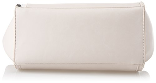 Gaudì Blank Stripes, Borsa a Spalla Donna, Rosa (Nude), 18x27x30 cm