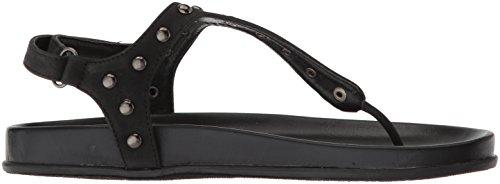 Very Volatile Women's Stud Flat Sandal Black ilh0sl
