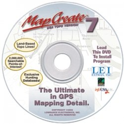 Lowrance MapCreate Accessory Pack (Lowrance Mapping Software)