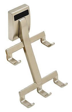 Nickel Matt Track - Synergy Elite Cleat, mount, belt hook, zinc, matt nickel